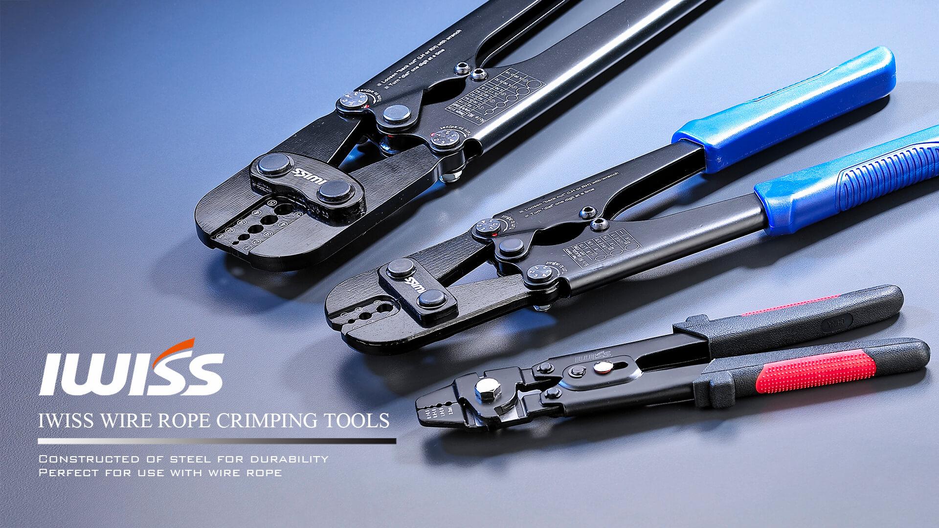 钓鱼钳,钢丝绳压接工具