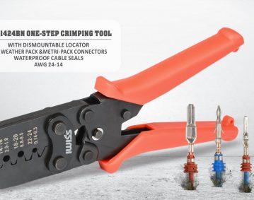 威仕IWS-1424BN汽车线束,防水连接器压接钳