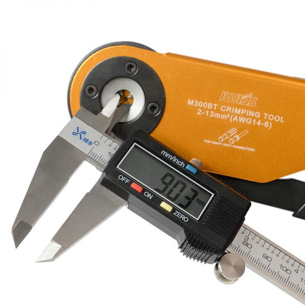 M300 工具钳口细节