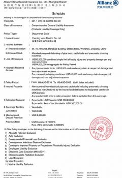 Policy - Yueqing Iwiss Electric Co